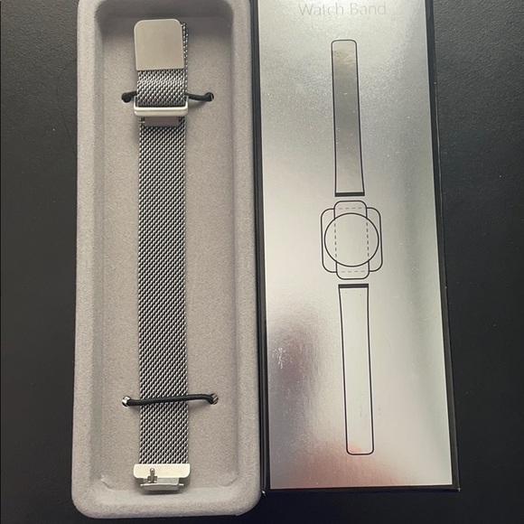 Metal Mesh band - For Fitbit Inspired Hr Bands